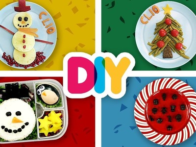 4 CHRISTMAS Baby Food Art Snacks your Kids will Love | Healthy-n-Yummy | DIY Art & Crafts for Kids
