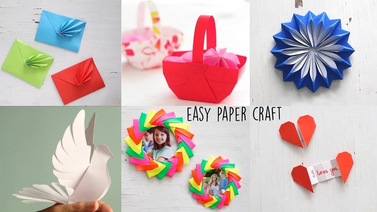 5 Best Paper Crafts   DIY Paper Craft   Ventuno Art