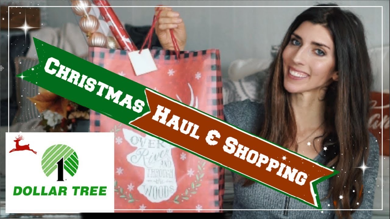 CHRISTMAS DOLLAR TREE HAUL, NEW FINDS & SHOP WITH ME | Momma From Scratch