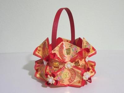 CNY TUTORIAL NO. 78 - Hongbao Candy Basket