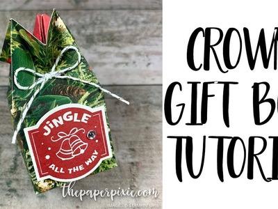 Crown Gift Box Tutorial
