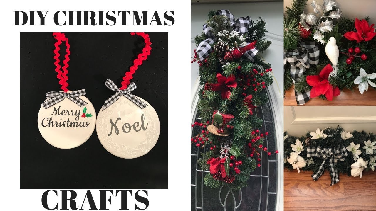 DIY Christmas Crafts Dollar Tree AcMoore Michaels Hobby Lobby Part 2
