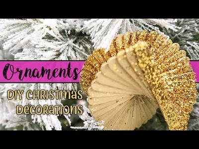 DIY Christmas Ornaments Decoration with Dollar Tree Supplies