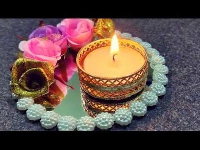 DIY decorative diya for Diwali || Diwali decoration || Diwali gift || Diwali Craft series