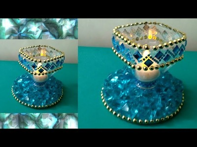 DIY Easy LED Candle Holder    Room Decor   