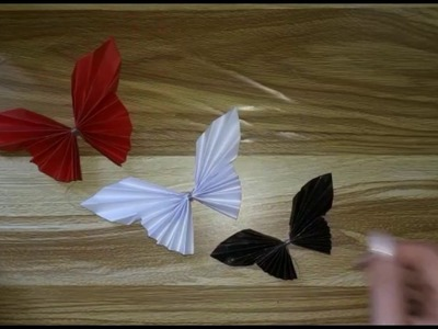 DIY : How To Make Paper Butterfly. Si te bejme nje flutur letre || Me Mua ||