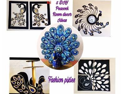 Diy room decor ideas.5 diy peacock home decoration.Fashion pixies.diy ideas for room decor