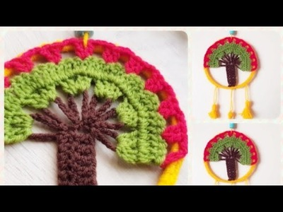 DIY-Wall Hanging-Home Decoration-Wall Decoration-Dream Catcher-Woolen Hanging-Wool Crafts in Tamil