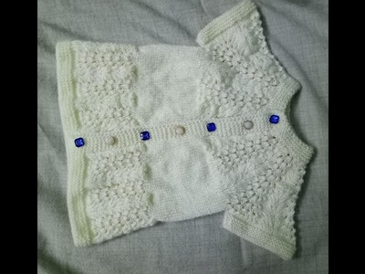 Easy baby sweater for 1 yr old kids Part-1  Hindi