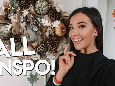 FALL HOME DECOR & DINNER RECIPE! | FALL INSPIRATION 2018