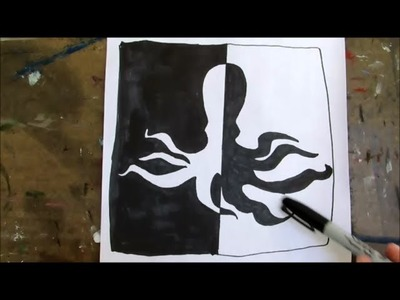 Fun with positive and negative space - HOW TO