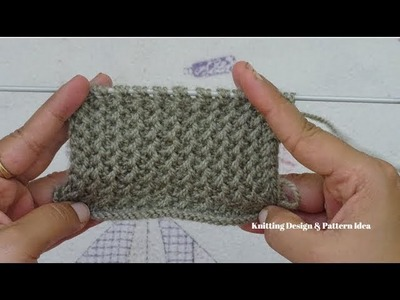 Gents Sweater design | latest | how to knit easy gents pattern in Hindi.
