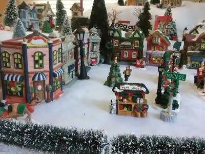 How to build a cheap Christmas Village