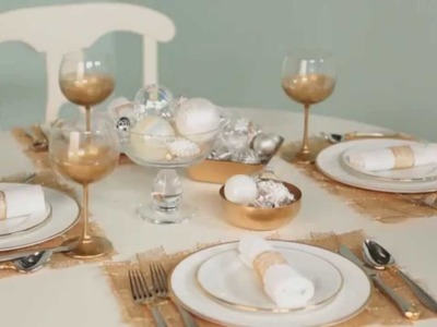 How to Create Festive Christmas Table Settings