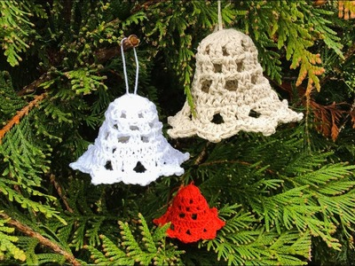 How To Crochet 3D Bell Christmas Decoration