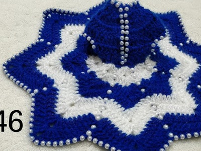 How to Crochet Beaded Dress for Laddu Gopal. Kanhaji #46 (all sizes)