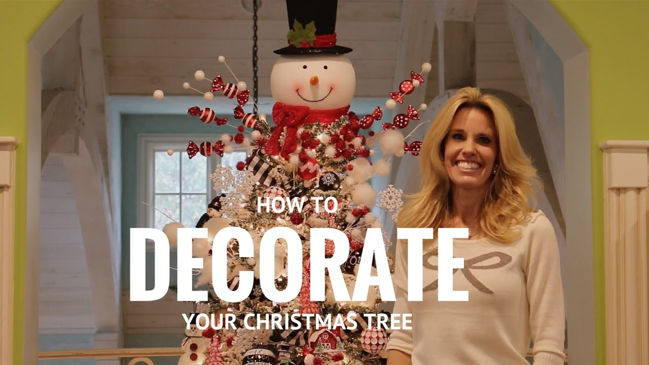How To: Decorate Your Christmas Tree