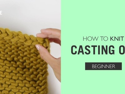 How to knit: Casting Off