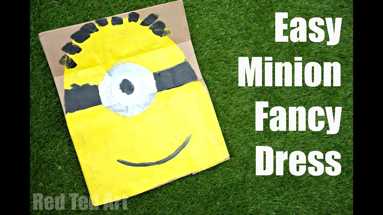 How to make a Minions Costume