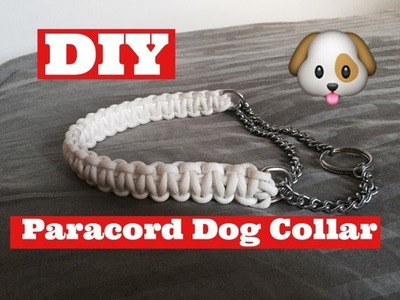 HOW TO.  Martingale Paracord Dog Collar
