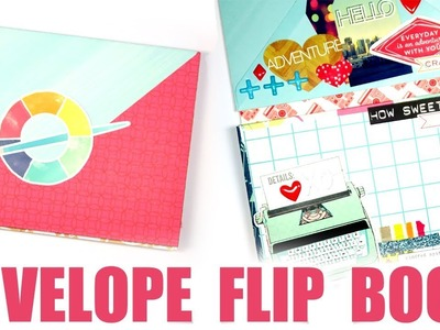 LET'S GET CRAFTY. BFF Envelope Flip Book Process Video