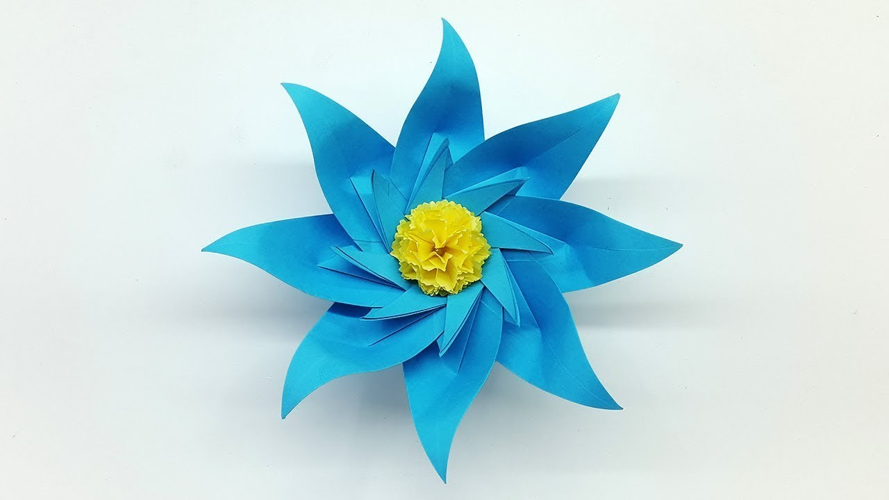 How To Make Craft Flowers Step By Step
