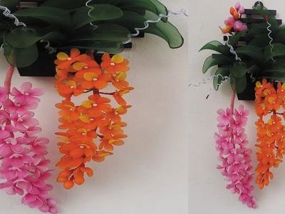 Nylon stockin Orchid Wall Hanging.????