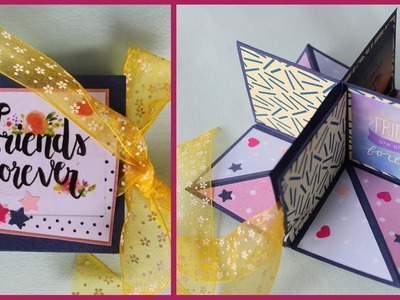 Pop up Corner Album | Pop up Greeting Card
