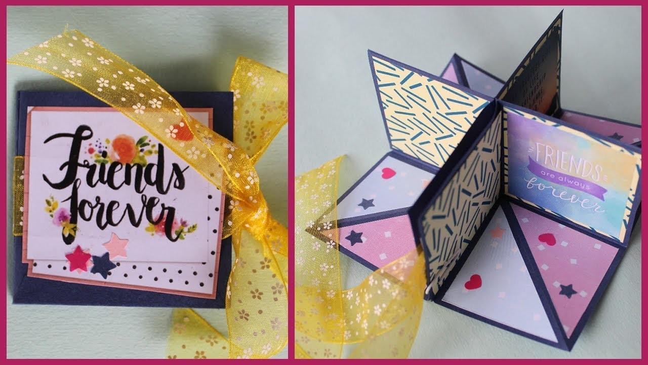 Pop up Corner Album | Pop up Greeting Card