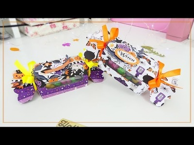 Scatole a forma di Caramelle di Halloween - DIY Candy Box