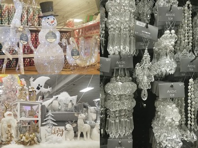 SHOP WITH ME: AT HOME | CHRISTMAS & THANKSGIVING HOME DECOR TOUR 2018 | LOTS OF GLAM & GLITTER!!!!
