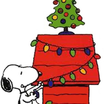 Snoopy Christmas Cross Stitch Pattern***LOOK***X***INSTANT DOWNLOAD***