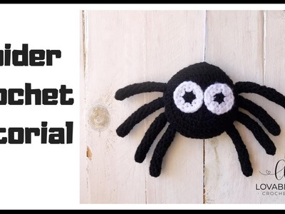 Spider Crochet Tutorial | How to Crochet a Spider | Amigurumi Spider Crochet Pattern Tutorial