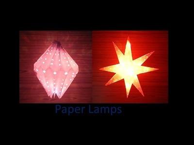 Star and diamond  lantern. kandil  for Christmas Decoration