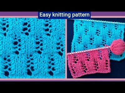 Sweater knitting pattern in hindi (english subtitle). jali knitting design. 126