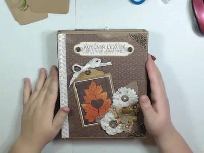 Tutorial: Authentique Harvest Folio Part 3