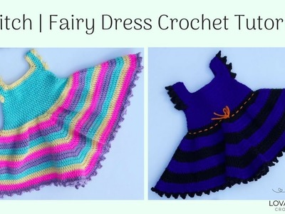 Witch Fairy Dress Costume Crochet Pattern Tutorial | How to Crochet a Witch Fairy Dress Costume