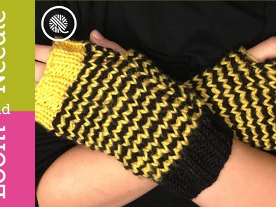 Youth Fingerless Mitts - Pattern Walk through and Sizing (Youth to Adult size)