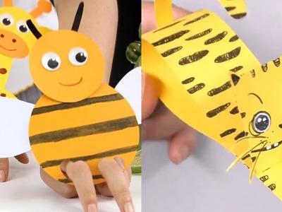 10 DIY Cute Animal Corner Bookmarks For Kids | Origami inspired | Paper Crafts