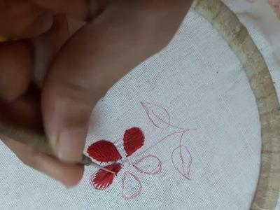 Aari filling stitch for beginners tutorial in tamil easy to do stitch