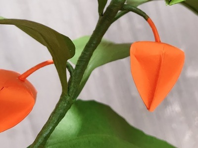 ABC TV | How To Make Chinese Lanterns Plant Paper With Shape Punch - Craft Tutorial