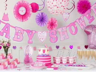 BABY SHOWER PARTY | BABY SHOWER IDEAS FOR GIRL