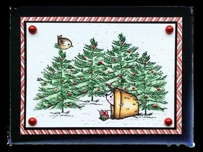 Card Tutorial #4 Little Character Christmas - Card 2 (CLA402b)