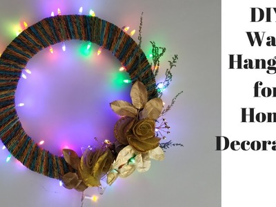 Diwali Decoration Ideas at Home | DIY Wall Hanging craft Ideas