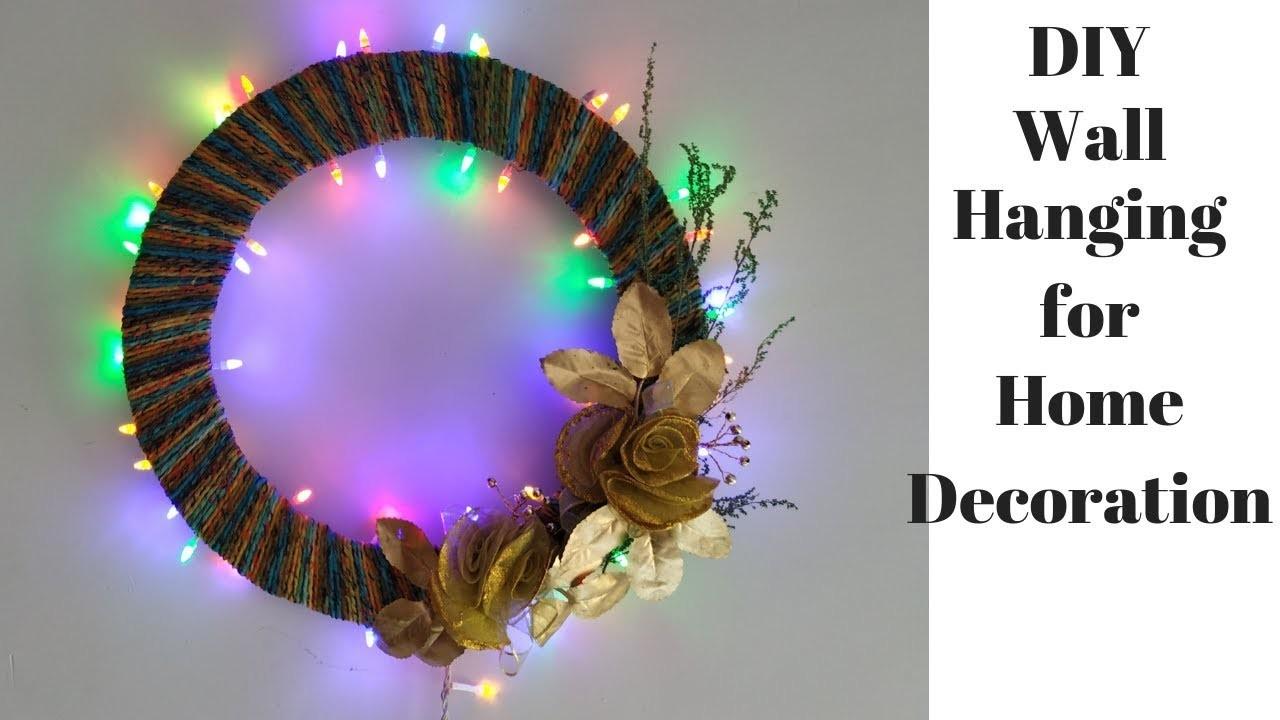 Diwali Decoration Ideas at Home | DIY Wall Hanging craft Ideas