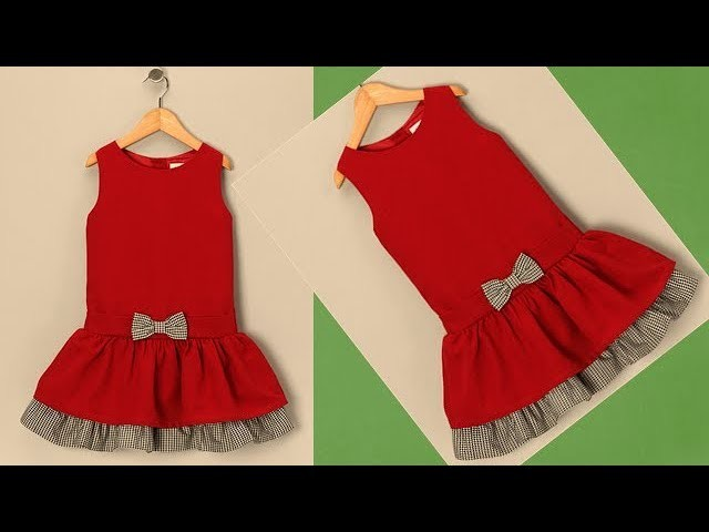 Diy Designer  Baby Frock For  3 year baby girl  Cutting And Stitching Full Tutorial