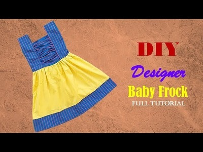 Diy Designer  Baby Frock For 4 to 5 year baby girl  Cutting And Stitching Full Tutorial