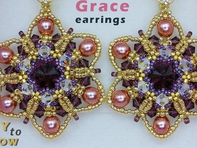 "DIY ""Grace"" earrings or Pendant tutorial."