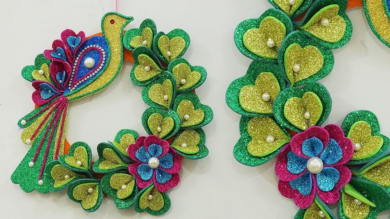 DIY Home Decoration Ideas - Beautiful DIY Christmas Wreath & X-Mas Craft | DIY Wall Hanging