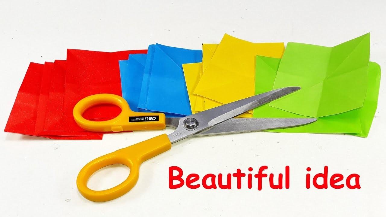 DIY paper crafts | Best craft idea | Cool idea with color paper | DIY arts and crafts